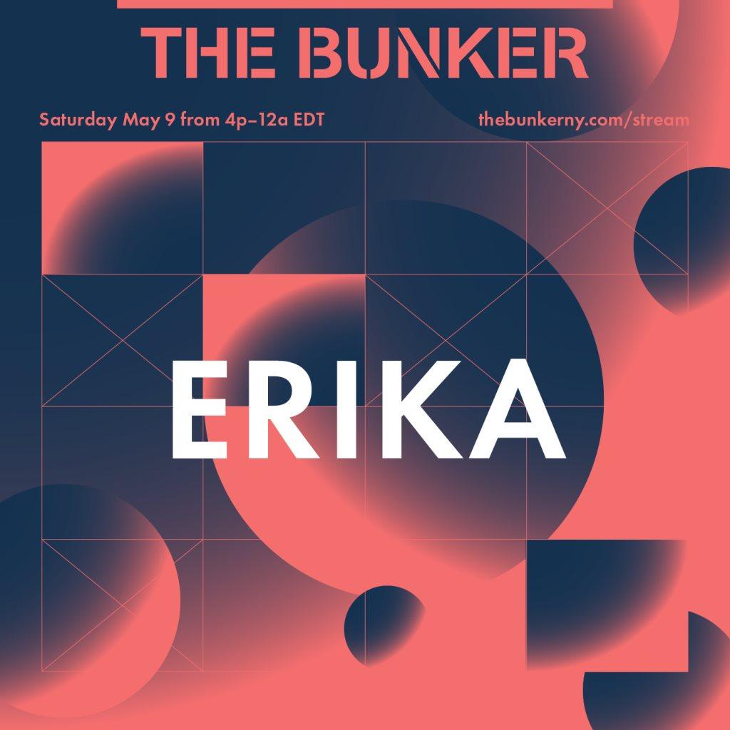 The Bunker Stream: Erika - Flyer back