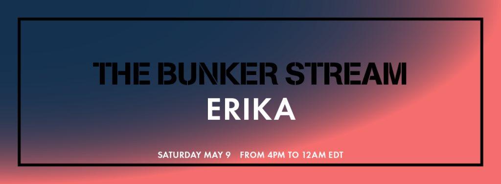 The Bunker Stream: Erika - Flyer front