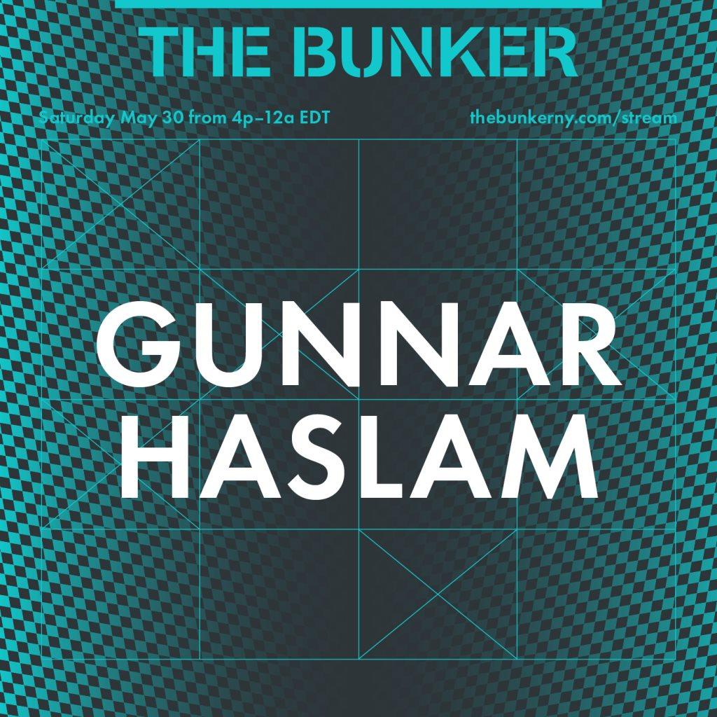 The Bunker Stream: Gunnar Haslam - Flyer back