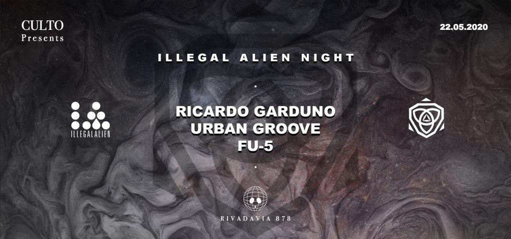 Culto presents: Illegal Alien Night - Flyer front