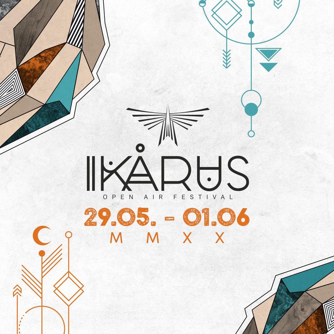 Ikarus Festival 2020 - Flyer front