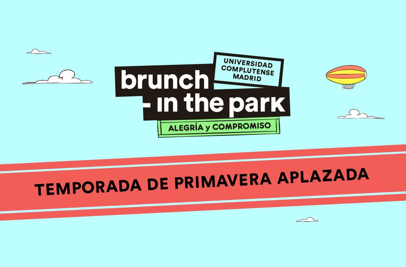 ***Aplazado*** Brunch -In the Park #1: Laurent Garnier, OR:LA, Moxie, Ears on Earth - Flyer front