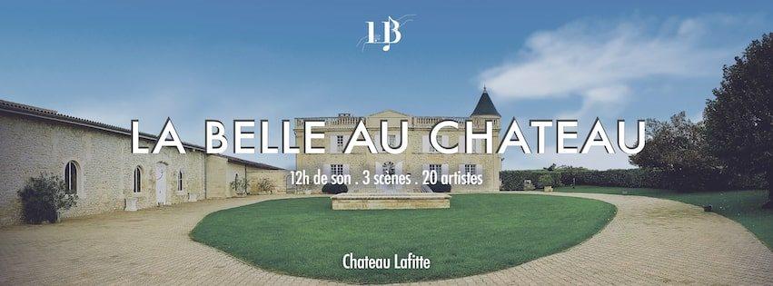 [RESCHEDULED] La Belle au Chateau - Flyer front