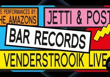 Club Ekko Invites BAR Records: Jetti & Post, Venderstrooik e.a. - Flyer front
