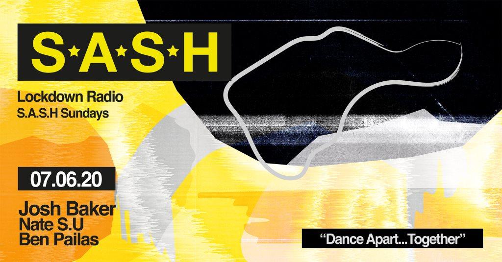 ★ Sash Sundays ★ Week 8 ★ Josh Baker ★ - Flyer front
