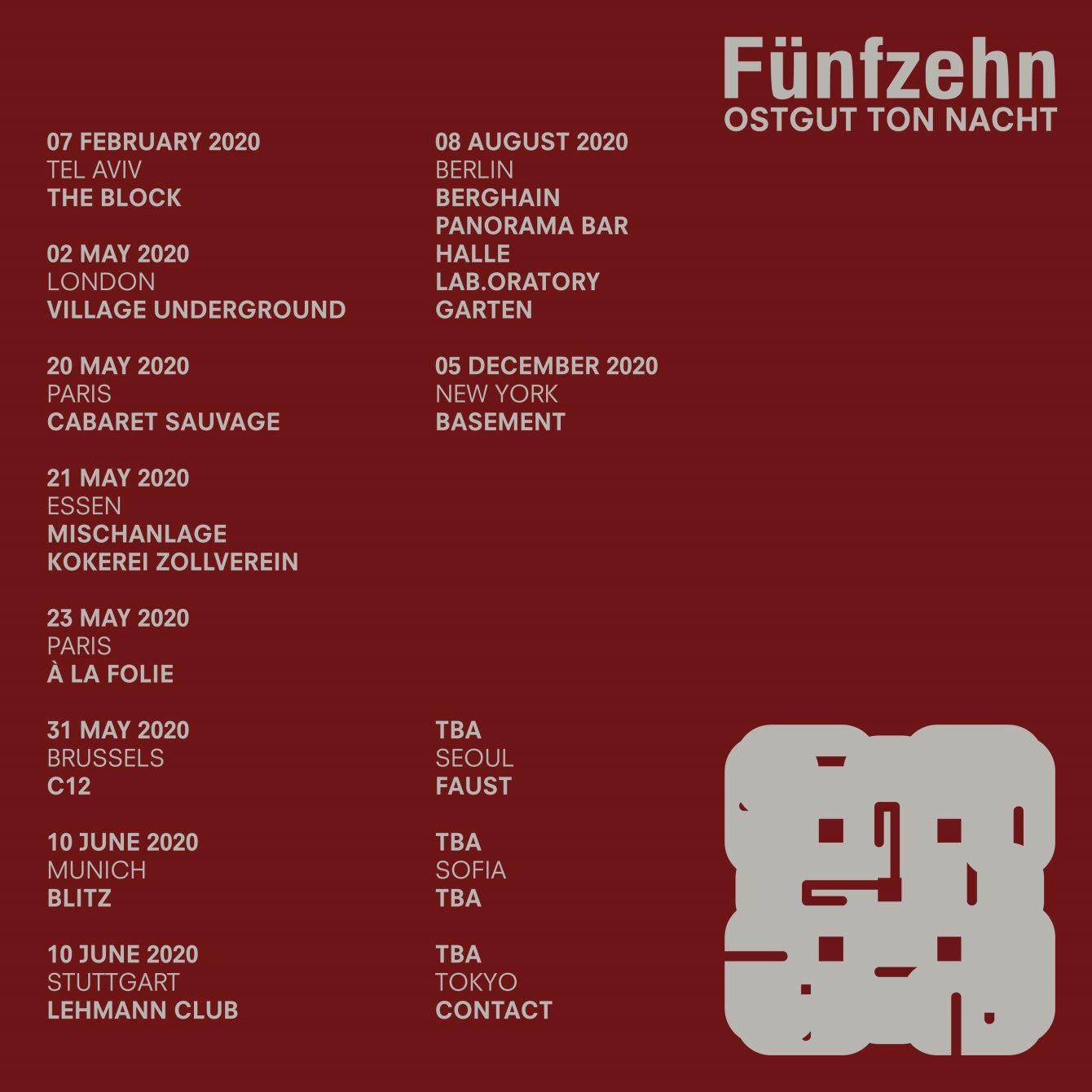 Ostgut Ton Nacht - Flyer back