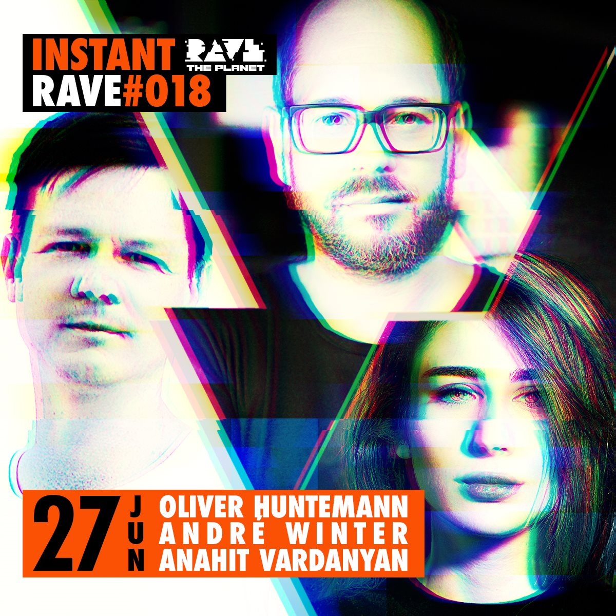 Instant Rave #018 with Deichbrand & Senso Sounds - Flyer front