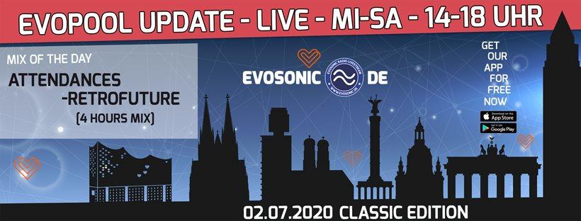 Evosonic Evopool Update Classic Edition - Flyer front