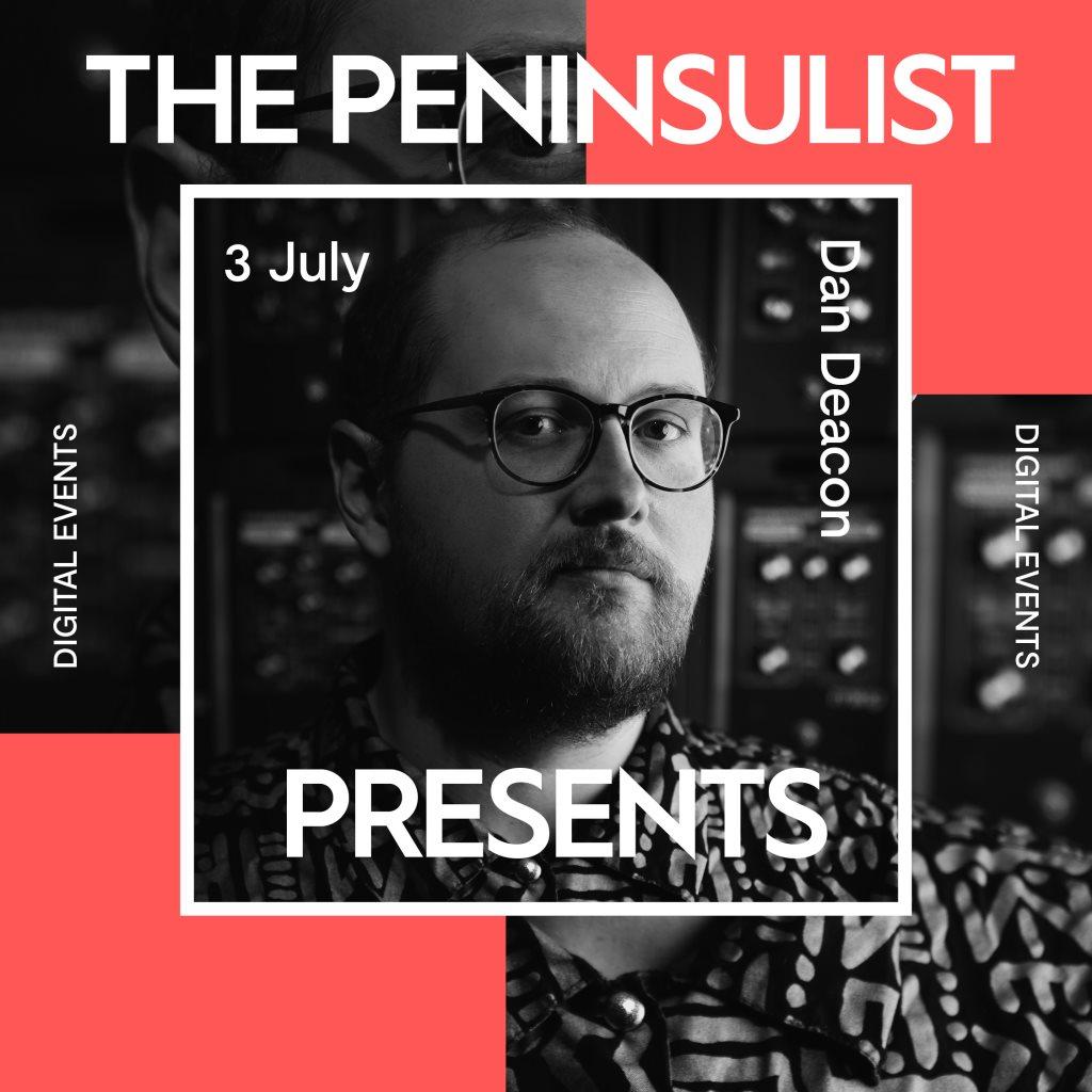 Dan Deacon - The Peninsulist presents - Flyer front
