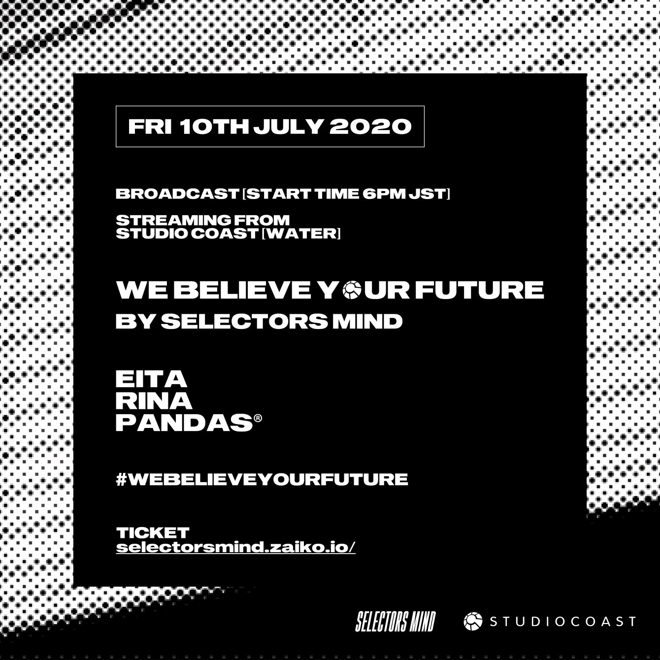 We Believe Your Future By Selectors Mind - Flyer front