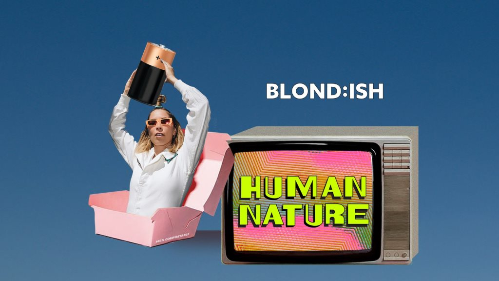 Blond:ish presents Human Nature - Flyer front