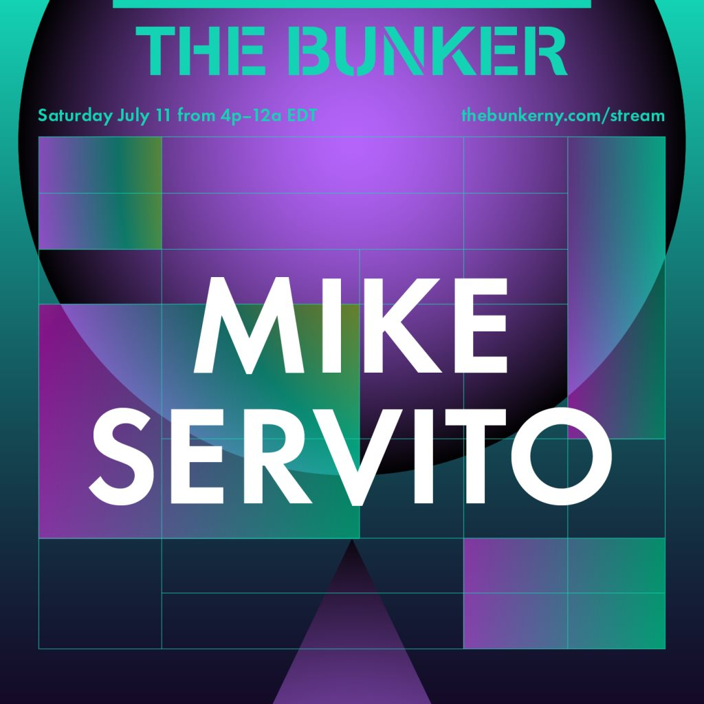 The Bunker Stream with Mike Servito - Flyer back
