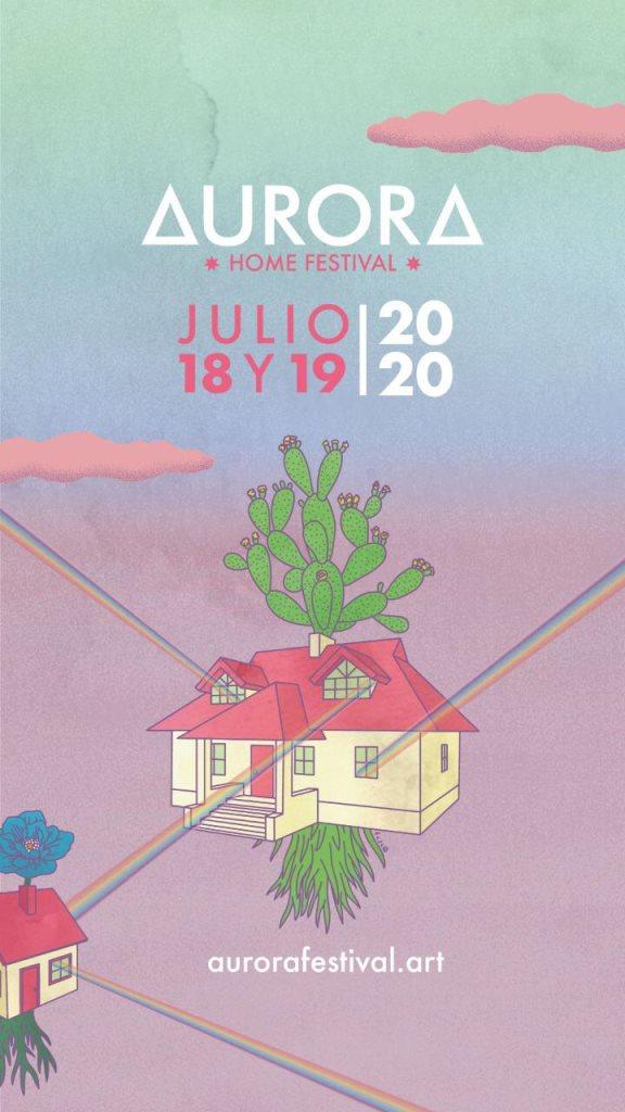 Aurora Home Festival - Flyer back