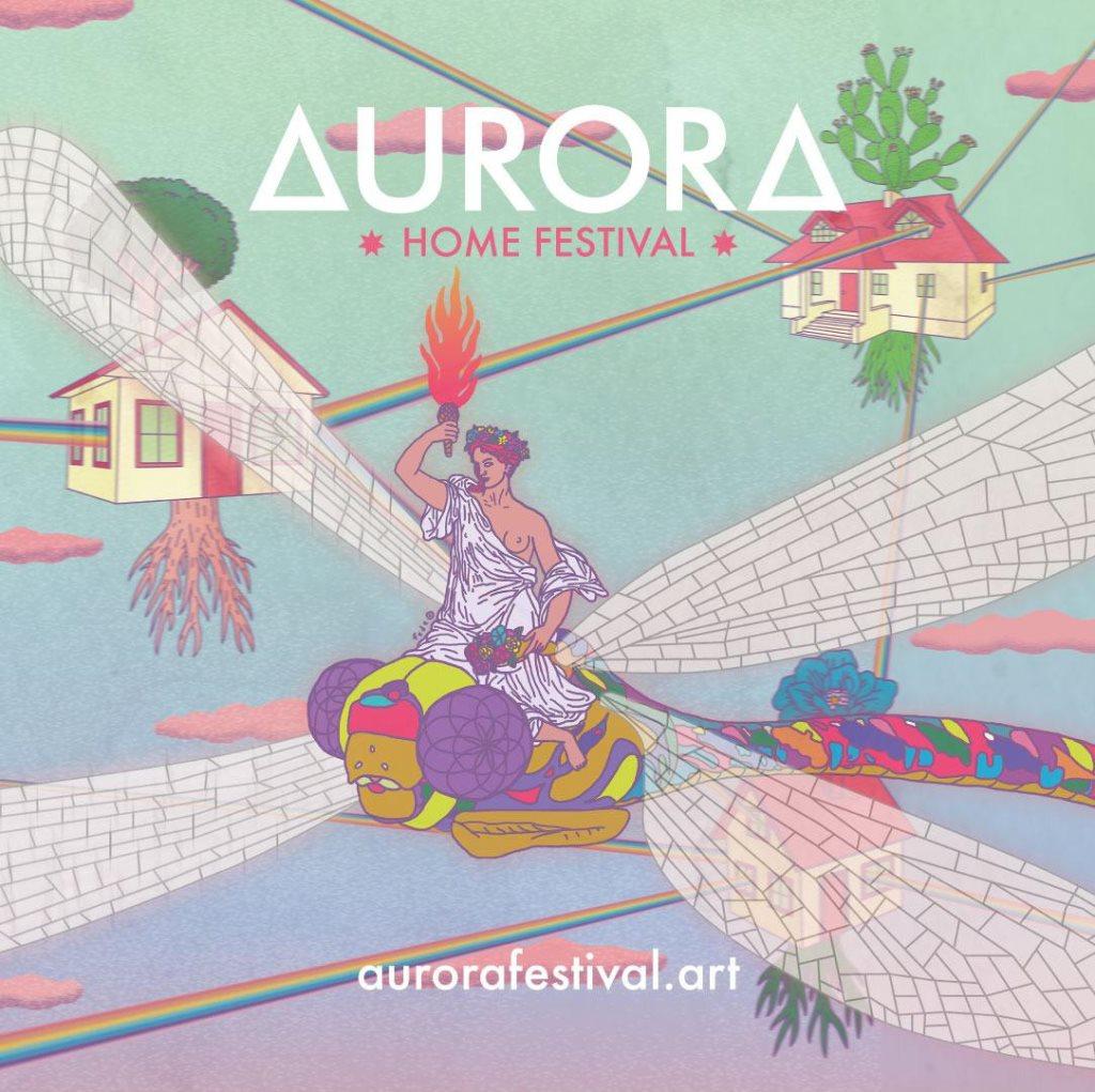 Aurora Home Festival - Flyer front