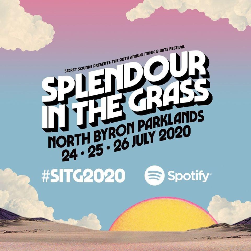 [POSTPONED] Splendour in the Grass 2020 - Flyer front