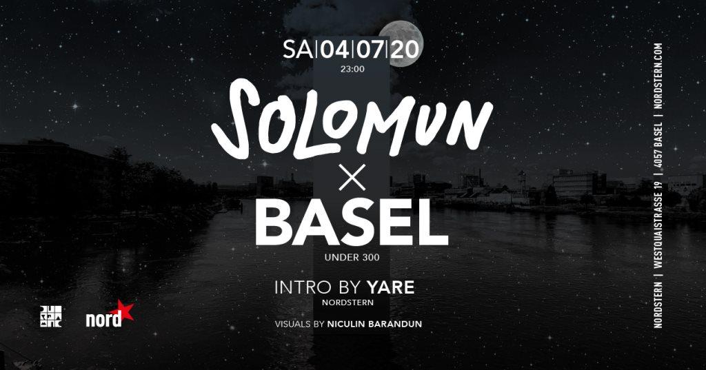 Solomun x Basel - Flyer front
