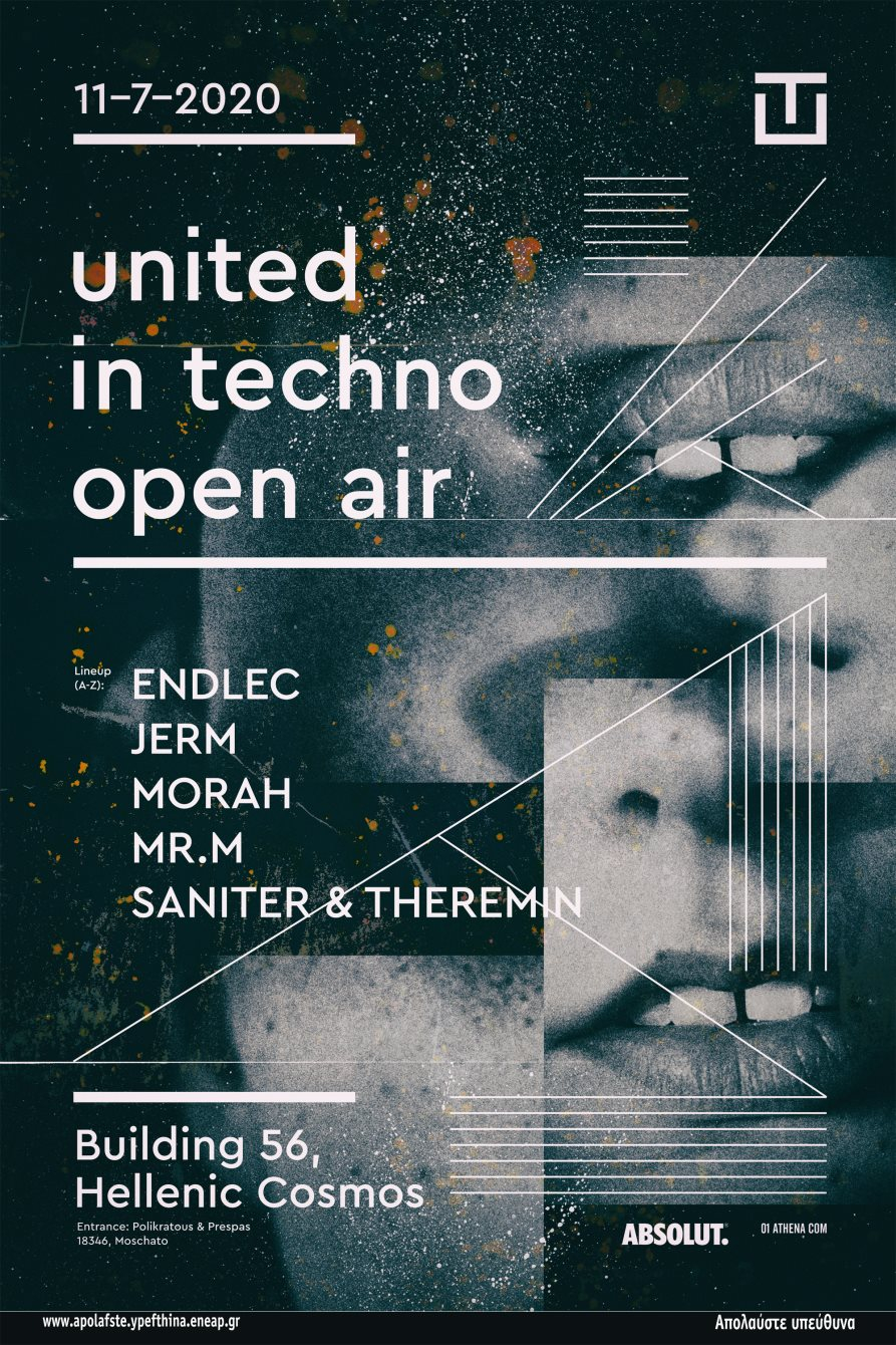United in Techno Open Air - Flyer front