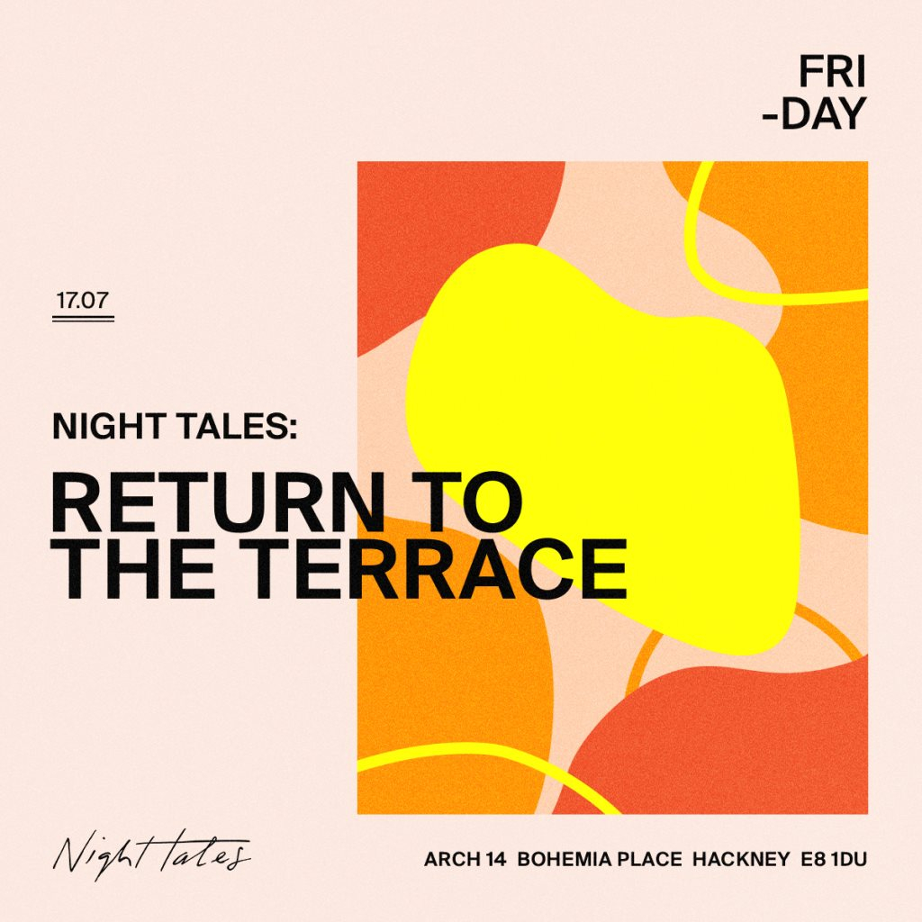 Return To The Terrace with Swoose & Armând - Flyer front