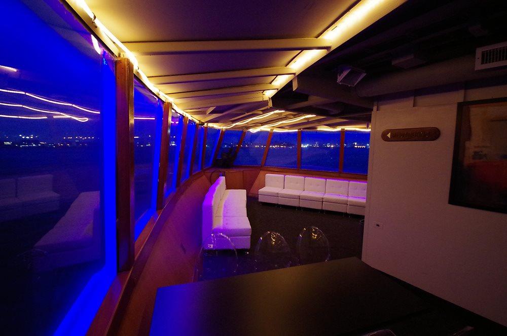 NYC LED Glowsticks Booze Cruise Yacht Party 2020 - Flyer back