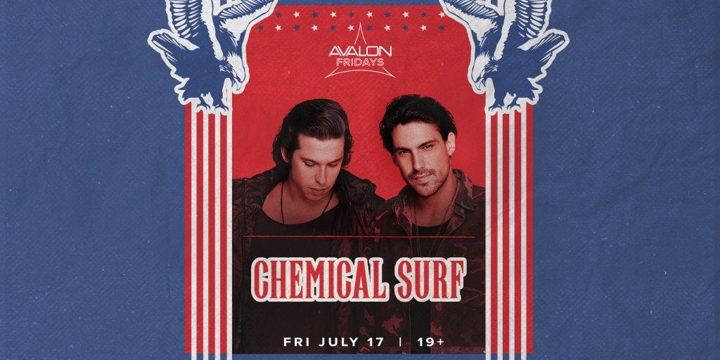 Chemical Surf - U.S. Tour - Flyer front