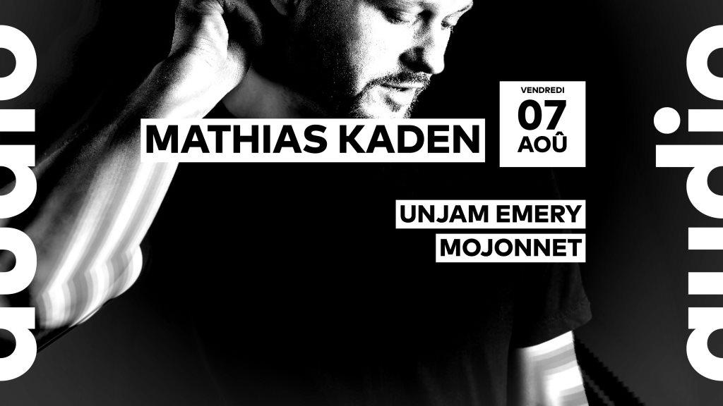 [ANNULÉ/CANCELLED] Mathias Kaden • Unjam Emery • Mojonnet - Flyer front