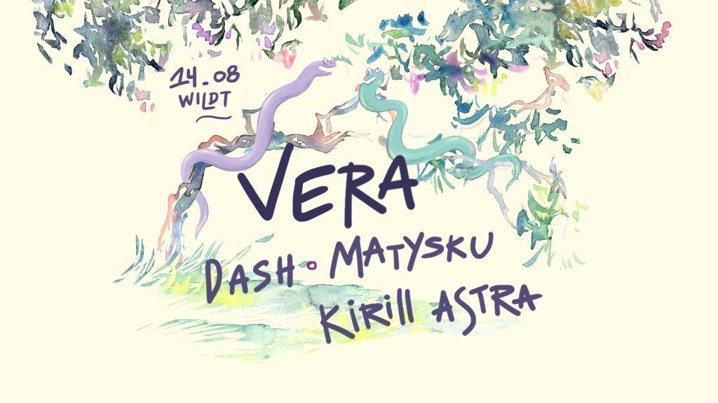Wildt: Vera, Dash, Matysku, Kirill Astra - Flyer front