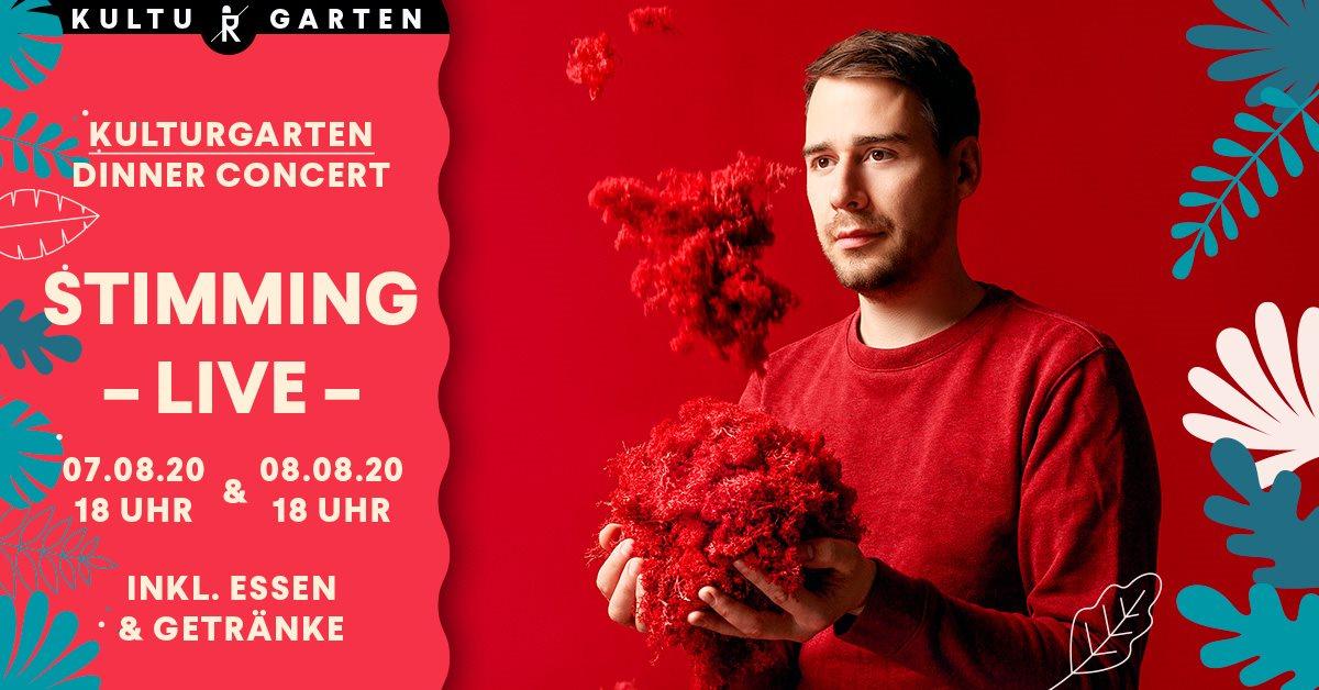 Stimming Live - Open Air Concert at Kulturgarten - Flyer front