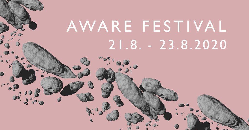 Aware Festival 2020 - Flyer back