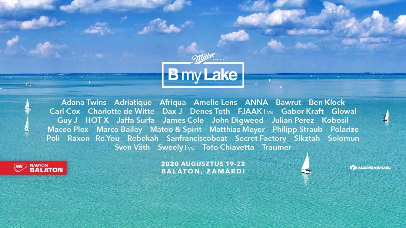 B my Lake Festival - Flyer front