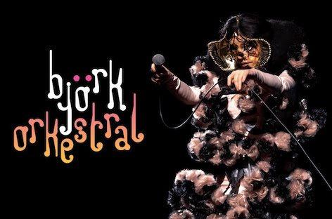 Björk Orkestral - Flyer front