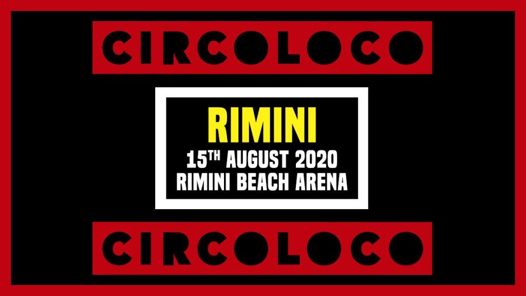 [CANCELLED] Circoloco Rimini - Flyer back