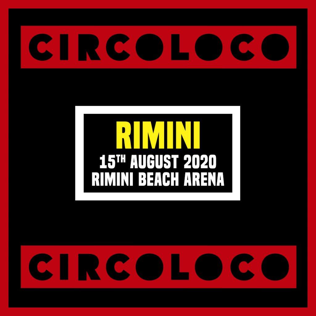 [CANCELLED] Circoloco Rimini - Flyer front