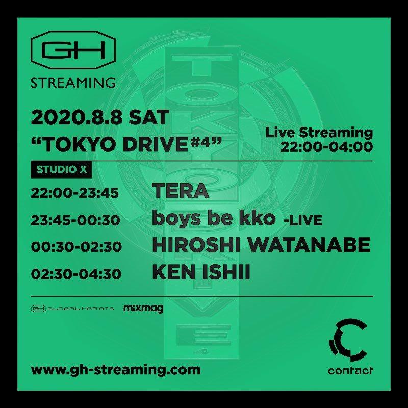 Tokyo Drive #4 - Flyer back
