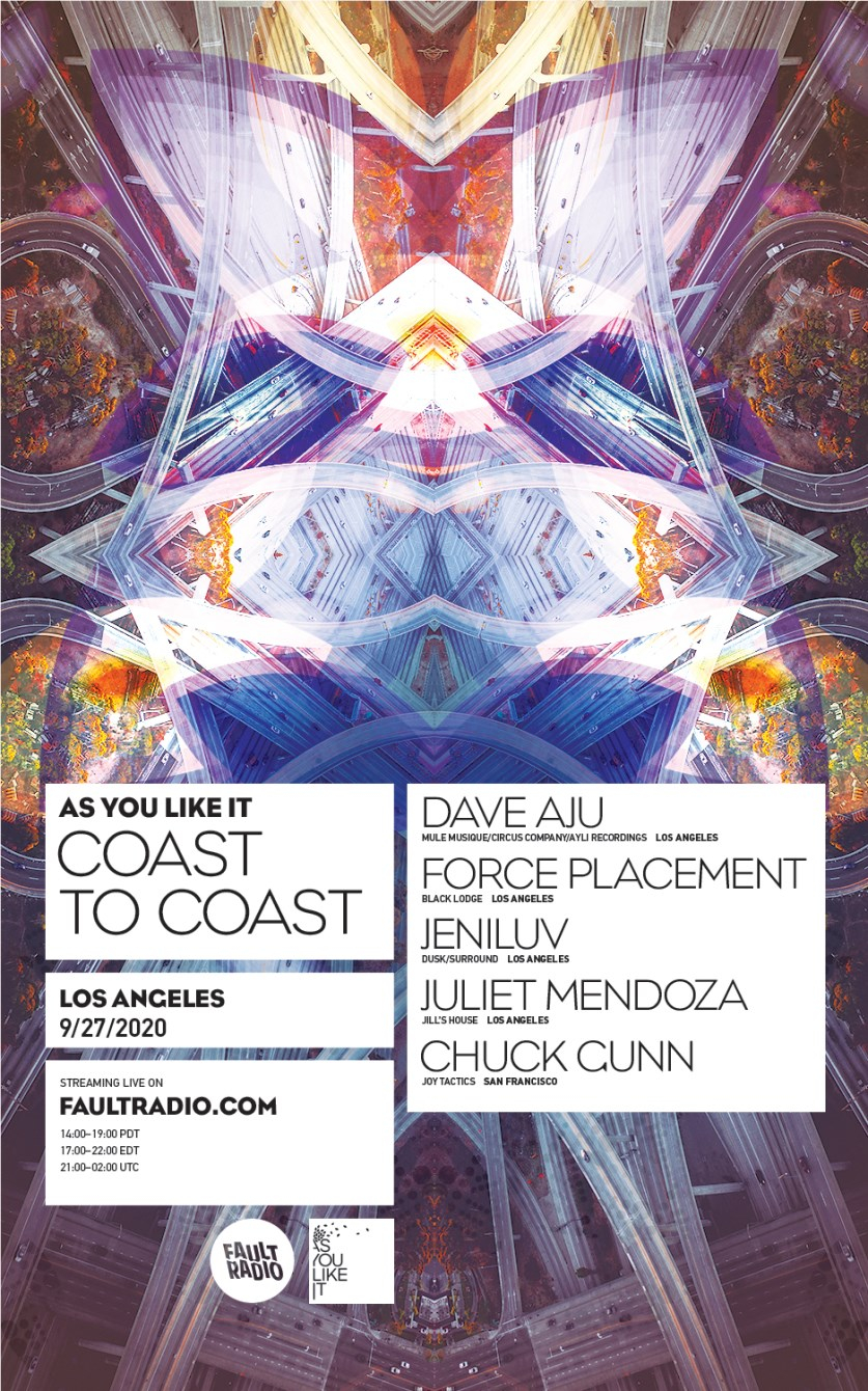 As You Like It Coast to Coast: Los Angeles - Flyer front