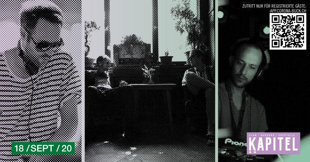 Unter Freunden - Kellerkind, Luca De Grandis, Velvet Valley - Flyer front