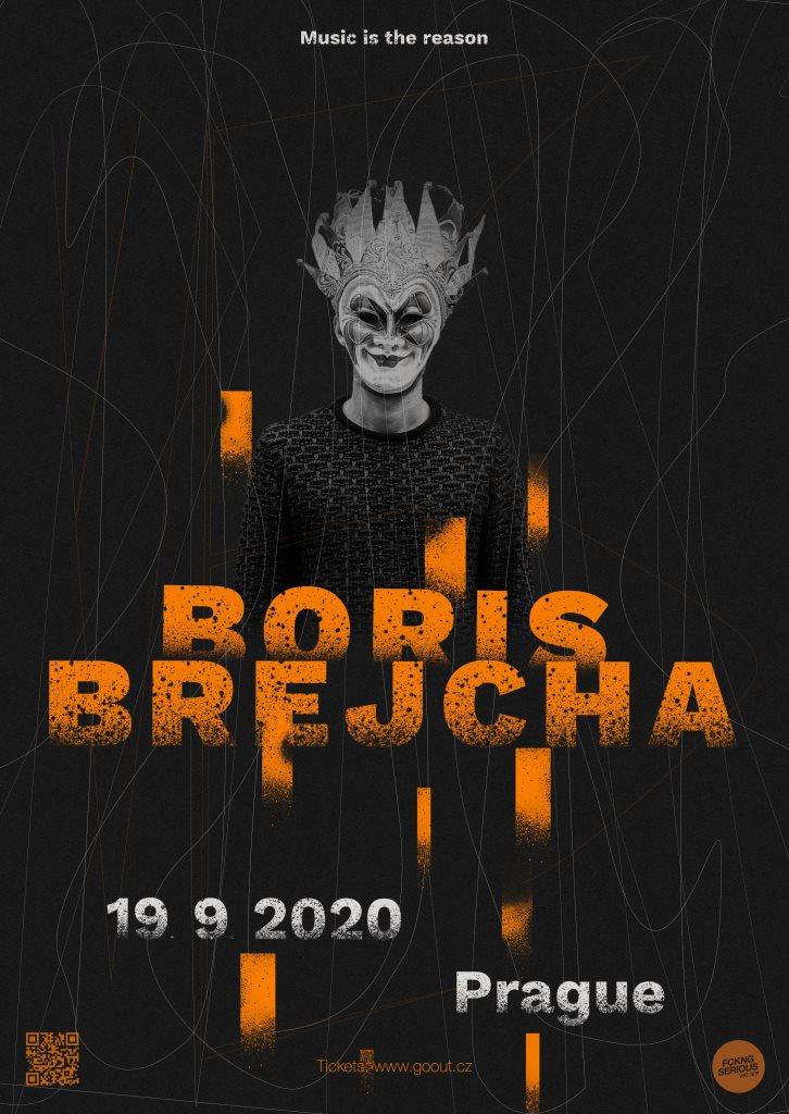 Boris Brejcha  - Flyer front