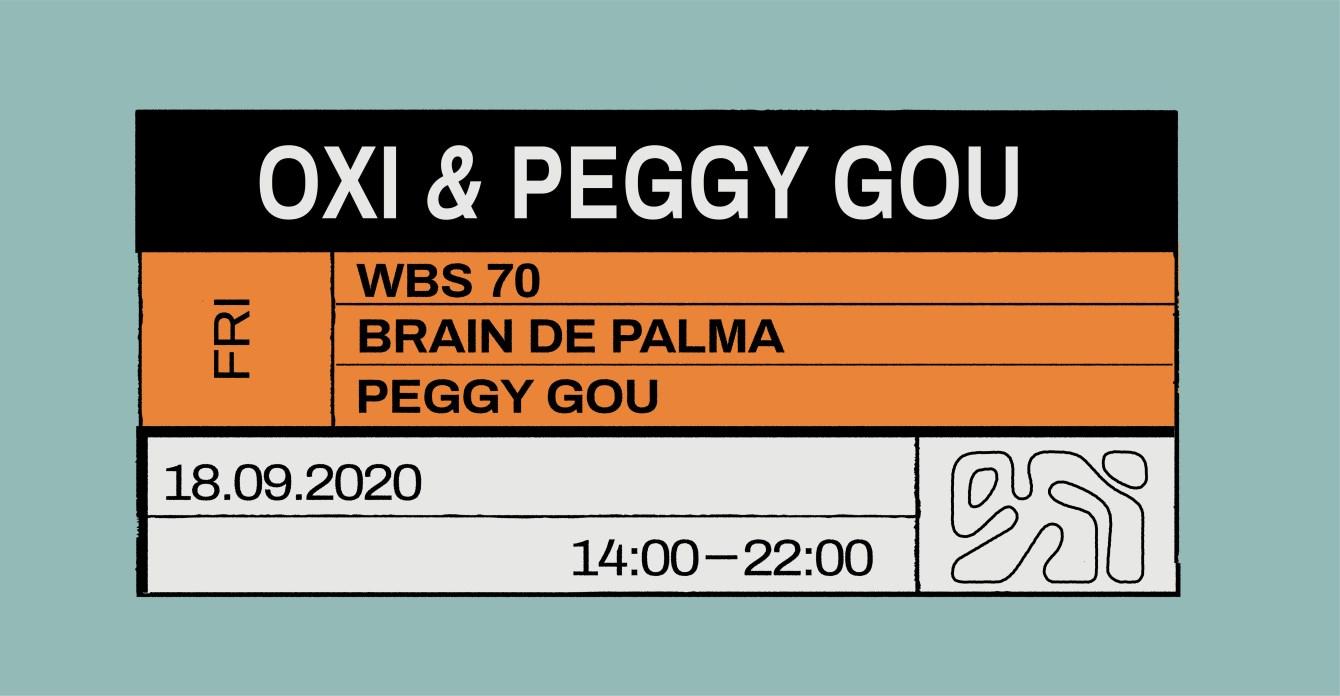 OXI & Peggy Gou - Flyer front