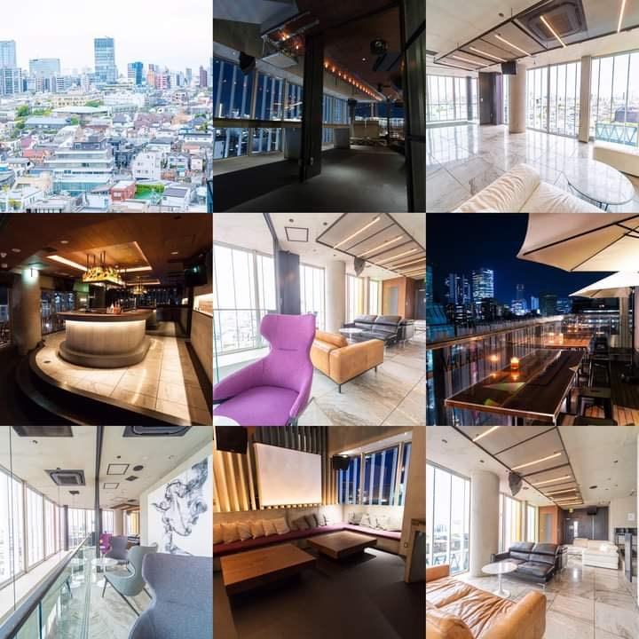 〈 Tokyo Rooftop Gathering 〉- Late Summer End 2020 - - Flyer back