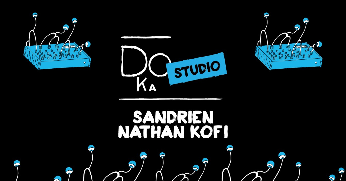 Sit Down Session #30 with Sandrien & Nathan Kofi - Flyer front