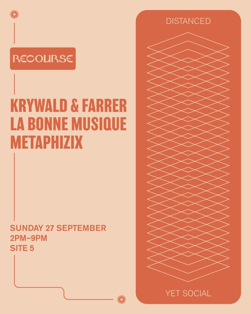 [Cancelled] Recourse with Krywald & Farrer - Flyer back