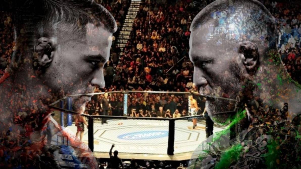 UFC 257 McGregor vs Poirier Full Fight Live Stream Free - Flyer front