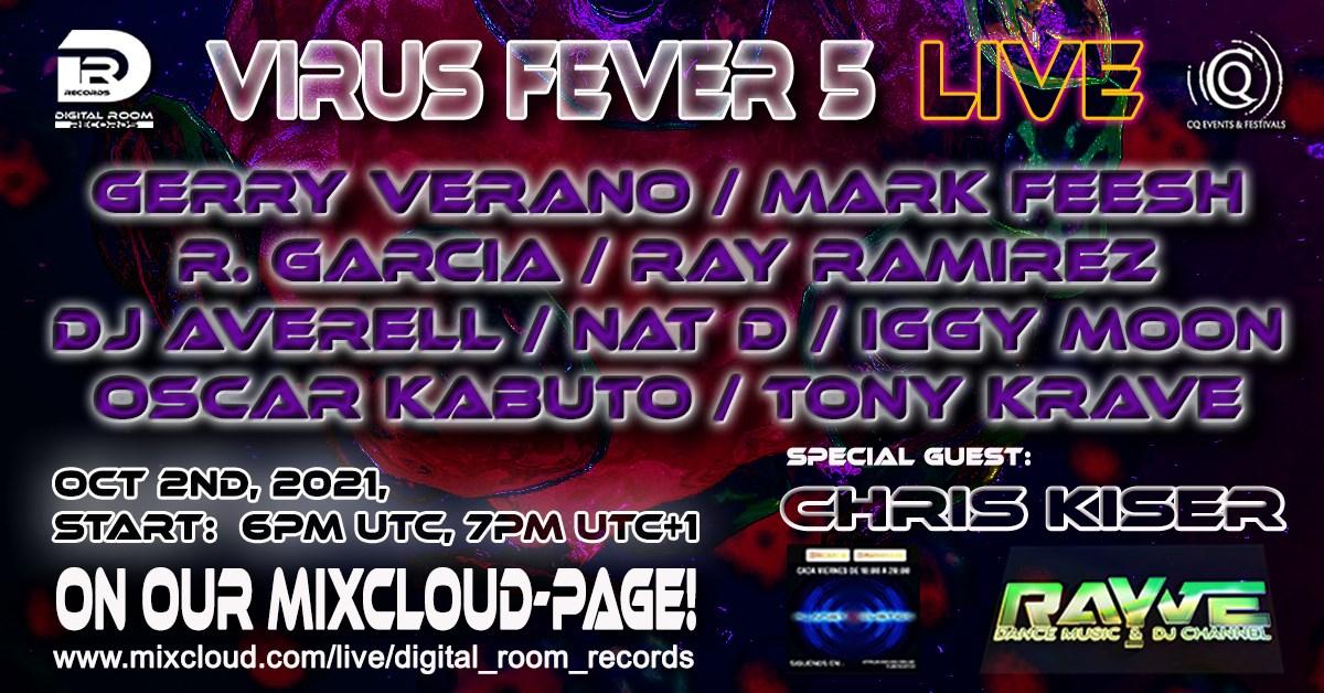 Virus Fever 5 - Flyer front