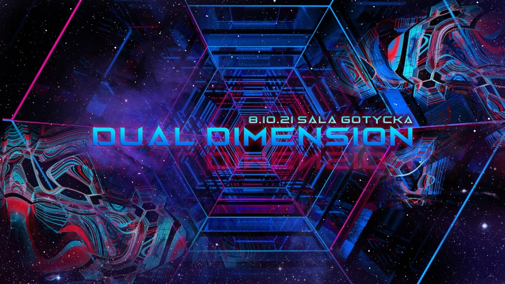 Dual Dimension with Spirit Architect - Flyer front