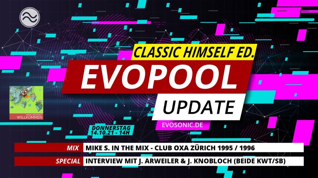 Evosonic Evopool Update Classic Himself Edition - Flyer front