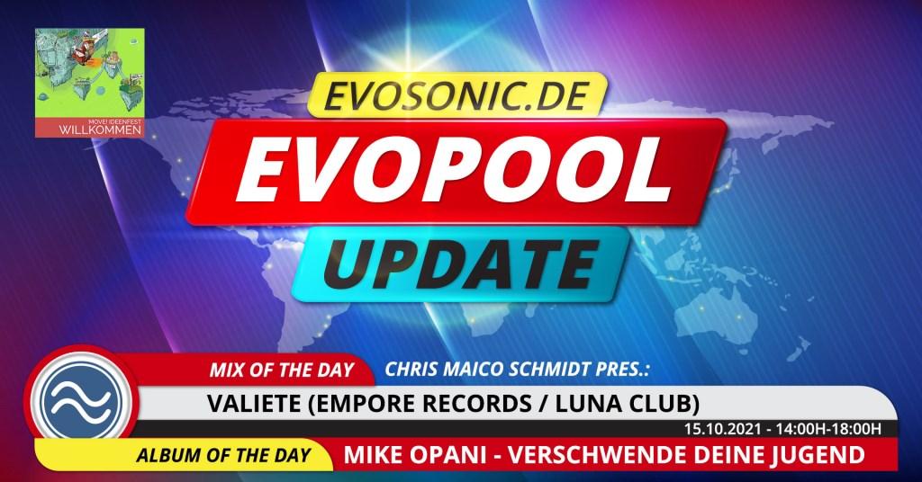 Evosonic Evopool Update - Flyer front