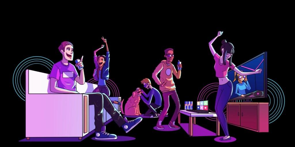 Friday Cyber Rave: Enjoy DJ Sets, Dance & Vibe in Spotlights on Zoom - Flyer back