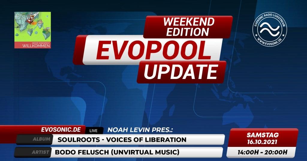 Evosonic Evopool Update WE Edition - Flyer front