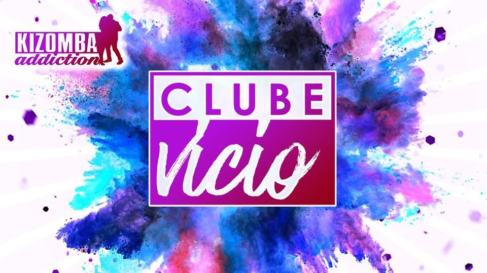 Clube Vicio - Kizomba Party & Dance Classes on Saturday Nights - Flyer back