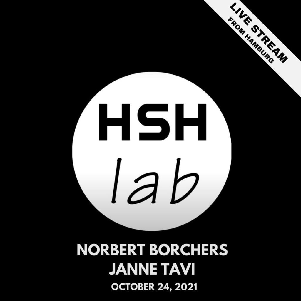 HSH Lab with Janne Tavi - Flyer front