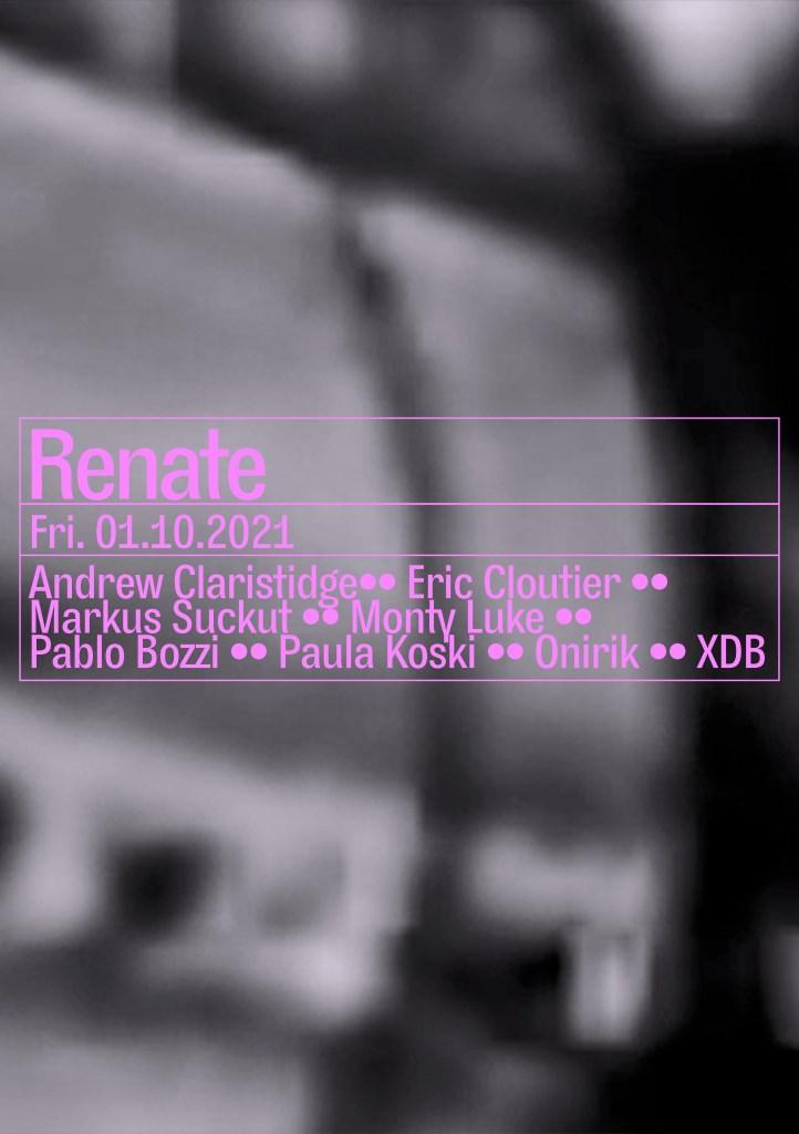Eric Cloutier, Monty Luke, Pablo Bozzi, XDB - Flyer front